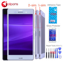 Buy ORIGINAL 5.2'' SONY Xperia Z3 LCD Display D6603 D6633 D6653 L55T SONY Xperia Z3 Display Touch Screen Frame Replace for $29.64 in AliExpress store