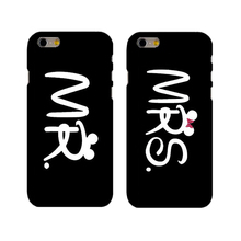 MR.&MRS.  Cases Cover best gifts  girlfriend boyfriend phone case For iphone 4 4s 5 5s se 6 6splus 7 7plus (hard case)