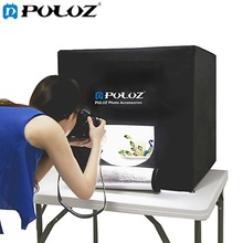 DHL Free PULUZ 40*40cm 16inch light box Soft box mini studio box softbox 30WLight Photo Lighting Studio Shooting Tent Box Kit