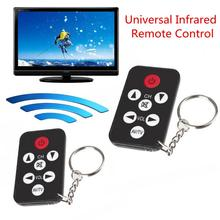 Pocket Small Mini Universal Infrared TV Remote Control Controller with Key Chain for Sony Panasonic Toshiba  NEC Samsung htc