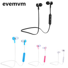 evemvm Bluetooth Headphones In-Ear Noise Reduction Headset with Microphone SweatProof Stereo Wireless Bluetooth Headset(China)