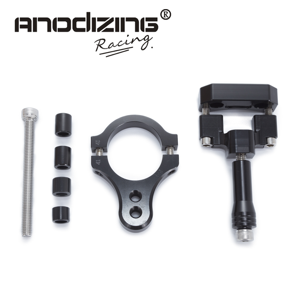 For Yamaha R3 2014 2015 2016 2017 Motorcycles Adjustable Steering Stabilize Damper Bracket Mount Support Kit Accessories<br>