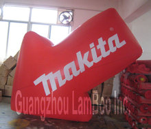 2013 Latest 3M/10FT Long Inflatable Arrow Shaped Balloon with your LOGO/DHL Free Shipping/Different colors can be made