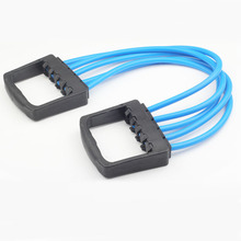 Fitness Chest developer Crossfit 5 Tubes Loop Pull Up Gym Expander rope Equipment Sports exercise Yoga Training Resistance Bands
