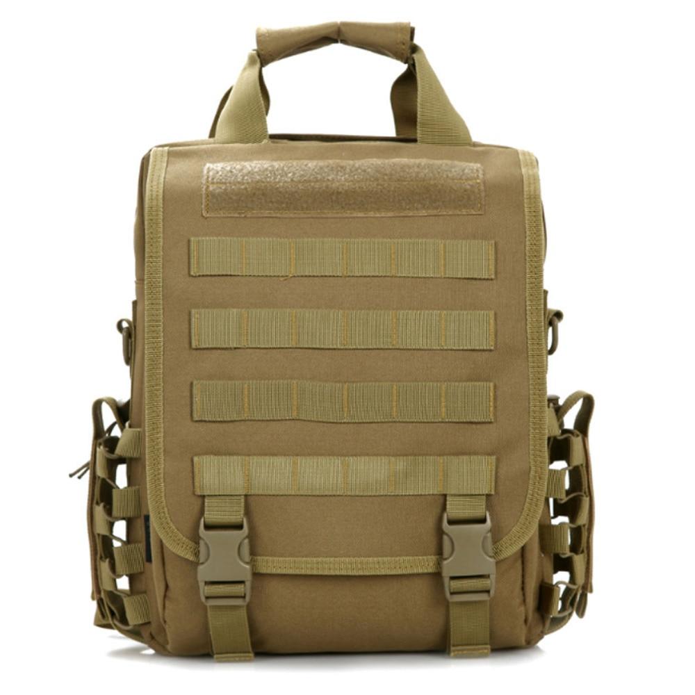 Men Nylon Shoulders Backpack Military Hike Trekking Bag Rucksack student bag mochila Backpacks<br>