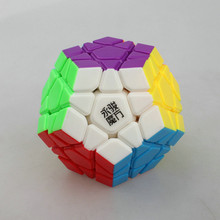 New Yongjun YuHu Megaminx Magic Cube Speed Puzzles Twisty Cubo Magico Educational Toys For Children Learning Gift