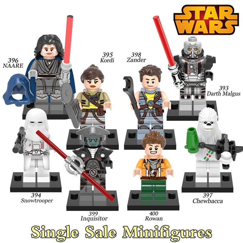 Building Blocks Star Wars Darth Malgus Zander Minifigures Sith Darth Vader Snowtrooper Kordi Super Heroes Bricks Kids DIY Toys<br><br>Aliexpress