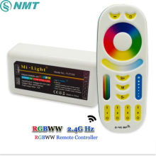 DC12V Mi Light Led Controller RGB CCT 2.4G RF Wireless Touch Screen Remote to Control Strip Bulb Downlight Rail Tracking light
