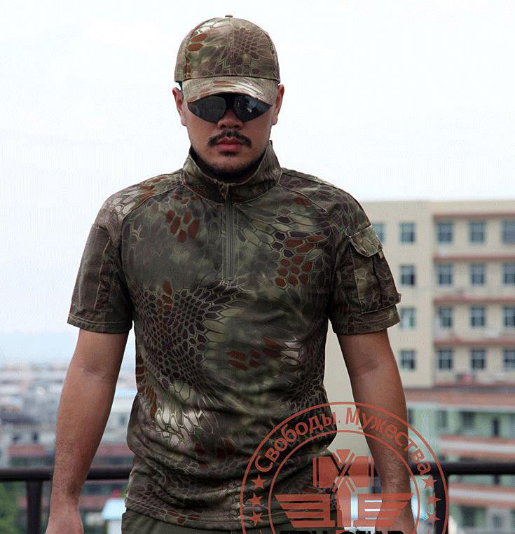 New-Arrival-Chiefs-Create-Kryptek-Mandrake-T-Shirt-Short-Sleeve-T-Shirt-Tactical-T-Shirt-Free