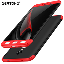 3 in 1 Phone Case for Xiaomi Redmi Note 4X Back Cover Shell 360 Degree Protection Full Body Case for Redmi Note 4 Global Version(China)