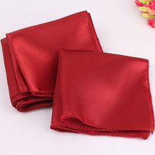 "100 Pieces Dark Red 12"" Square Stain Table Napkin Dinner Pocket Handkerchief Wedding Favor Decoration"