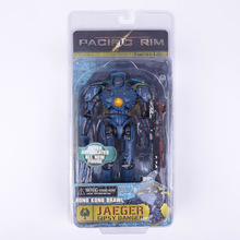 NECA Pacific Rim Jaeger Gipsy Danger Hong Kong Brawl / Anchorage Attack PVC Action Figure Collectible Model Toy 18cm