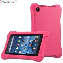 Mosunx silicone kindle case Kids Shock Proof Case Cover For Amazon Kindle Fire HD 7 2015 Dec1