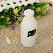 Milk Bottle Night Light Childrens Bedroom Nursery Lamp Mini Table Lamp Toy Kids Feeding Lamp High Quality Silicone Bottle Light(China)