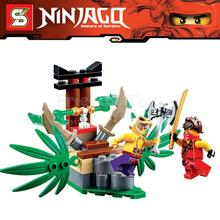 5Ninjago Set Kai Krait Jungle Trap Ninja Building Bricks Figure SuperHero Toys Compatible Lego 70752 Block - Awesome Toy Store store