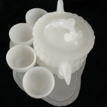 China Jade Afghanistan tea natural white wine home decoration(China)