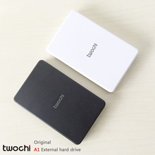 Free shipping 2016 New Style 2.5 inch Twochi A1 USB2.0 HDD 40GB Slim External hard drive Portable Storage disk wholesale Price