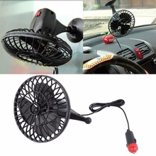 4 Inch 12V Powered Mini Car Truck Vehicle Cooling Air Fan with Cigarette Lighter Socket(China)