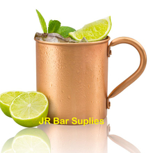 450ml 16.0oz 100% Copper Moscow Mule Mug Durable Coppery Beer Mugs Coffee Mug Milk Cup Pure Copper Cup Drinkware