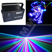 3000mw rgb animation laser nightclub light rgb for sales full color beam&animation programmable sd card player light