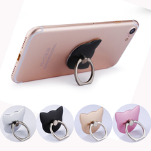 Ring Holder for Mobile Phones for iPhone 5 6 6s 6plus 6splus 7 Ring for Phone Luxury Ring Holder Phone Holder Ring Wholesale(China)