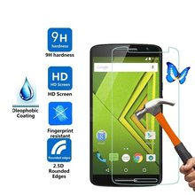 0.3mm Explosion-proof Front Tempered Glass Film for Motorola Moto X Play 5.5inch Screen Protector(China)