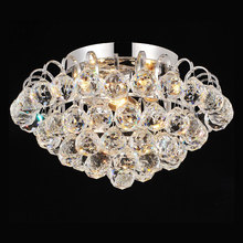home decor modern lustre crystal chandeliers improvement indoor lighting retro round large LED Baskets 9007(China)