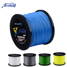 Erchang 500M 4 Strand Weaves Fishing Lines PE Braided Super Strong Multifilament PE Braided Fishing Line 10 20 30 40 60 70LB