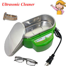 1pc Fashion Convenient Ultrasonic Cleaner, Cleaning Jewellery, Watch, Glassesl with English Manual for You 9030(China)