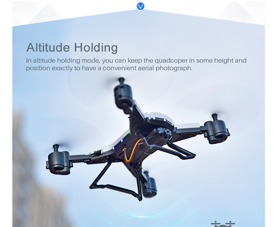 T-Rex RC Helicopter Drone with Camera HD 1080P WIFI FPV RC Drone Professional Foldable Quadrocopter Long Battery Life 7