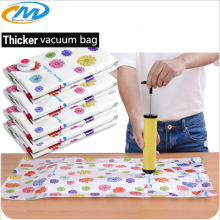Vacuum Storage bag for clothes Vacuum Package Space Saver Saving Storage bag with Pump Closet organizer Travel storage bag