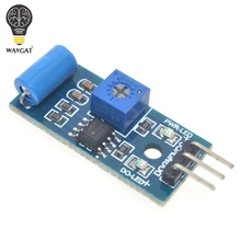 Normally Closed Vibration Sensor Module for Alarm System DIY Smart Vehicle Robot Helicopter Airplane Aeroplane Boart Car WAVGAT(China)