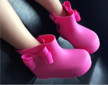 Melissa foreign trade new non - slip boys and girls butterfly rain boots jelly fragrant shoes baby water shoes