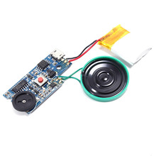 DC 5V USB Electronic Recording Sound Voice Chip Music Module Recorder For Musical Greeting Card 4MB MP3 Key Control Programmable