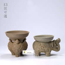 ONEICE Free Shipping Ore Jing Tao Fang Unglazed Clay tea strainers Coarse pottery tea filter Han pottery Tea Ceramic tea(China)