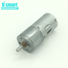 JGA25-370 Mini Motor DC 12 Volt 3V 6V 24V High Torque Low Speed Reversed Electric Motor Reduction Engine 12v Gear Motor