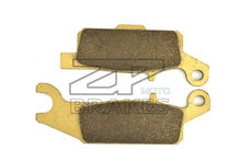 Brake Pads For ATV YAMAHA YFM 250 RX/RY/RZ/RA/RB/RD Raptor 2008-2013 08 09 10 11 12 Front(Right) OEM New ZPMOTO-BRAKES