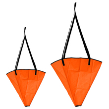 2 Pieces 18 inch + 24 inch Sea Anchor Drogue Sail Drift Brake for Inflatable Fishing Boat Yacht Dinghy Jet skis Accessories
