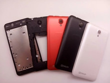 New LCD Front Frame Middle Frame Battery Back Cover For Lenovo A319 Housing Case With Antenna+Power Volume Buttons