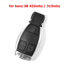 High quality 3 Buttons Smart Remote Key for Mercedes&Benz NEC Chip 315/433MHz Optional Supports MB Car Models After Year 2000(China)
