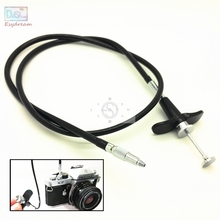 28'' 70cm Mechanical Locking Camera Shutter Release Remote Control Cable Cord For Fuji Fujifilm Pentax Canon Nikon Film Cameras