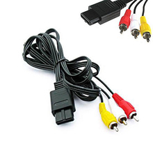Superior Electrical Equipment Accessories TV GAME AV VIDEO CABLE CORD AV Composite Cable Power Cords(China)