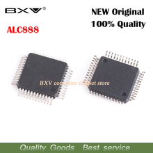 10pcs/lot ALC888 QFP-48 7.1+2 Channel High Definition Audio Codec new original free shipping laptop chip(China)