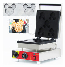 Electric Mickey Waffle Machine Baker Maker Non-stick Cooking Surface Snack Device Breakfast 220V 110V(China)