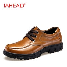 New Winter Men Shoes High Quality Men Cow Leather Shoes Mens Shoes Large Sizes 38-50 Fashion Flats Oxfords Casual Shoes MQ572