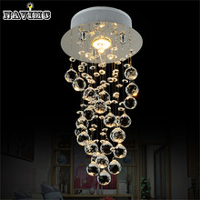 Modern K9 Crystal Chandelier Lighting Modern Pendant Lamp Cheap Preety Helix Popular High Quality Luminaire