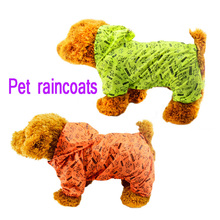 Raincoat For Pet Dog Waterproof Pet Dog Clothes For Dogs Summer Raincoat Supplies Coats Jackets for roupa para cachorro 45D