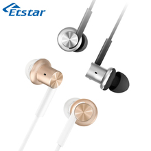 Original Xiaomi Hybrid Earphone Mi IV In-Ear Pro HD Earphone Wired Control With MIC for Xiaomi Mi6 MIX 5C Redmi 4 4X smartphone(Hong Kong)