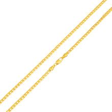 2017 Hot Sale Men Women Gold-color Cuban Curb Chain Necklace Jewelry Gift(China)