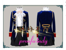 "Anime Prussia APH ""Axis Powers Hetalia"" North Italy Feliciano England Vargas Cosplay Costume Custom-Made"